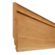 Oak Modern Skirting 20mm x 119mm x 3.6m