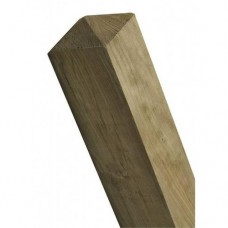 Treated Weathered Top Post 150mm x 150mm x 2.4m