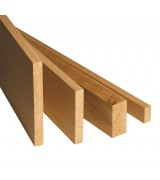 Solid Oak Planed Sections